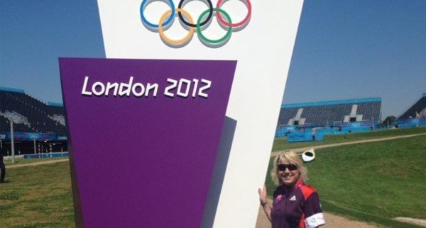 Charlie at the 2012 Olympics